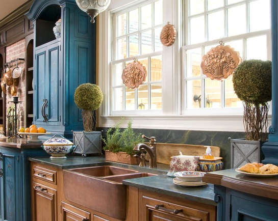 Houzz mix cabinetry finishes