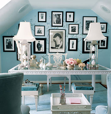 Glamorous Design Ideas For Your Home Office