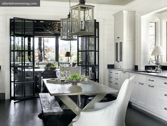 Rustic, Traditional, And A Touch Of Modern Décor
