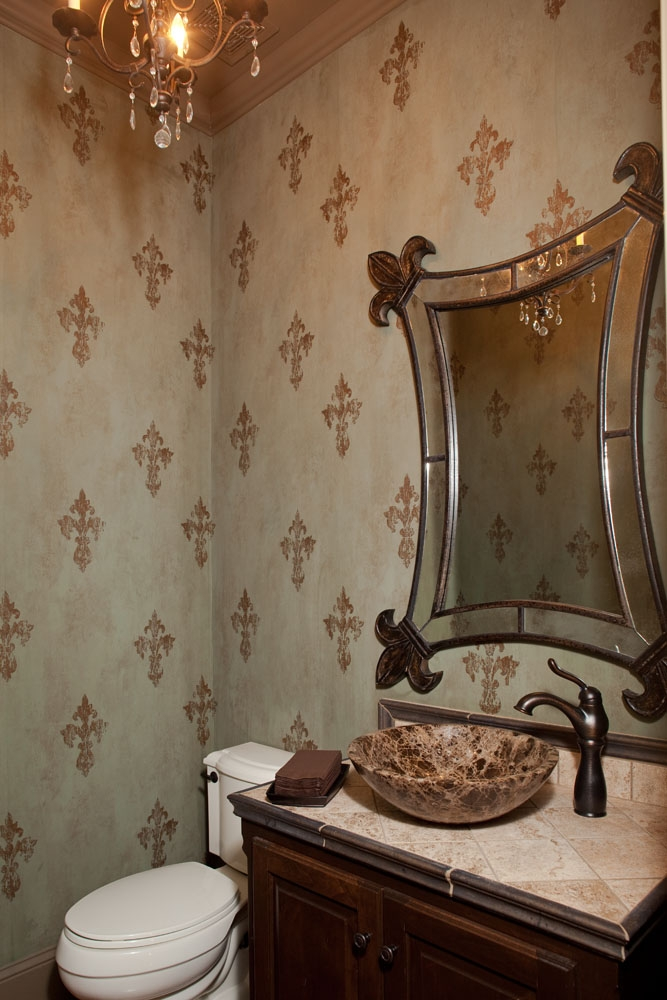 half bathroom interior design