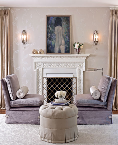 soothing seating area