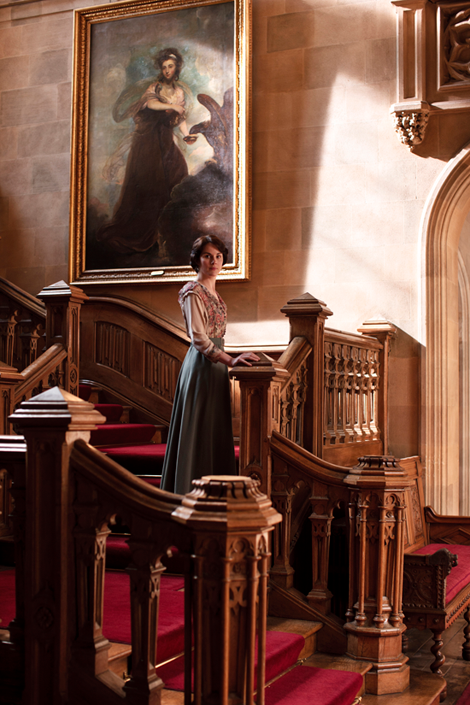 Downton Abbey staircase
