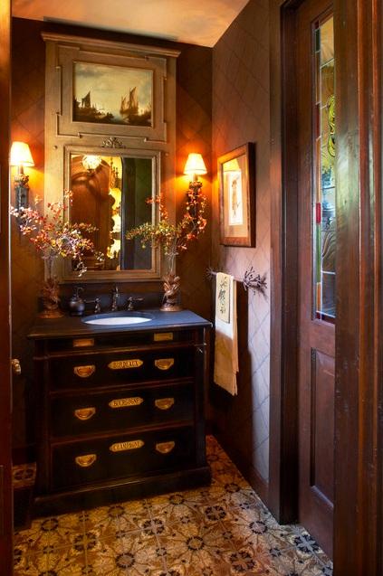 wine chest vanity