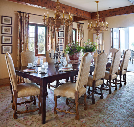 Delightful Dining Rooms Ready For Entertaining The Decorative Touch Ltd