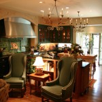 Country Home Open kitchen