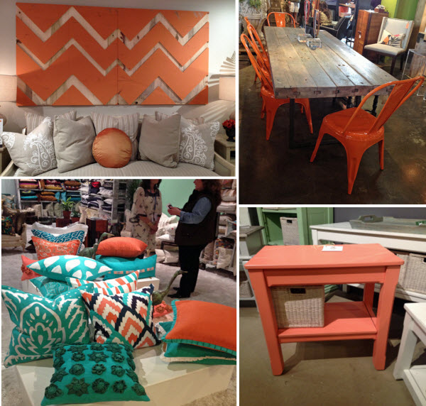 High Point Market orange