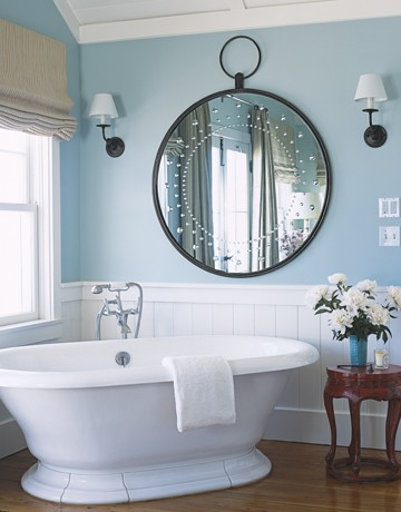 The Round Mirror: The Bathroom