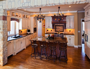 kitchen interior design by the decorative touch