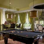 Transitional-Style Game Room: Gorgeous Game Room