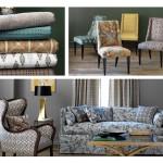 sherwin williams and robert allen fabrics eclectic modern