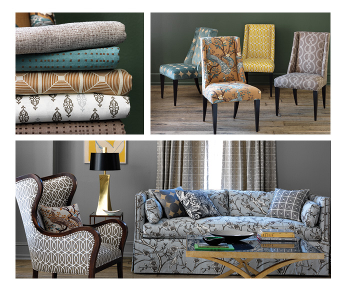 sherwin williams and robert allen fabrics eclectic modern