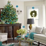 Eddie Ross Christmas living room