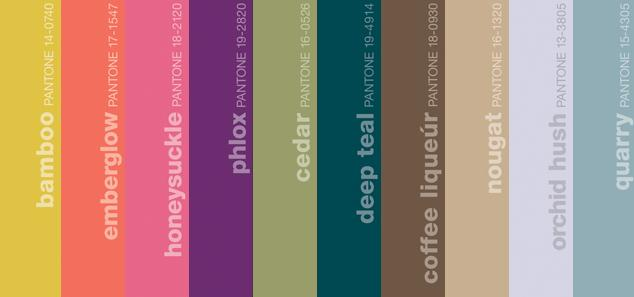 Pantone Fall 2011 Color Report
