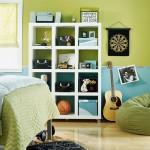 green storage cubes